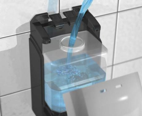 Le distributeur de gel hydroalcoolique ou la solution pour lutter contre les virus, les microbes et cie