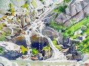 Cascade Eaux Tortes Laverq (Alpes-de-Haute-Provence)