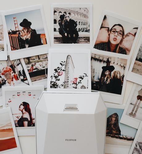 imprimante instantané photo polaroid déco intérieure