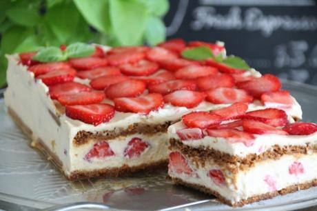tiramisu, spéculoos, fraises, chicorée