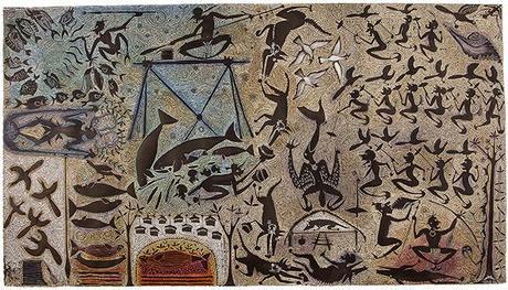 Focus sur une estampe de Dennis Nona dans les collections du musée des Confluences, Lyon