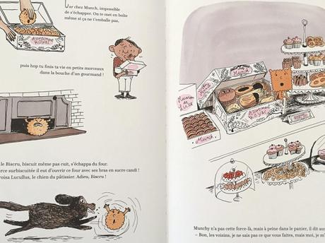 La terrible histoire de Petit Biscuit – Carl Norac et Magali Le Huche