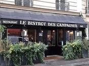 Bistrot Campagnes, bonne adresse dans quartier Montparnasse