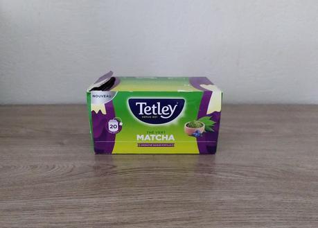 Thé vert Matcha Myrtille TETLEY
