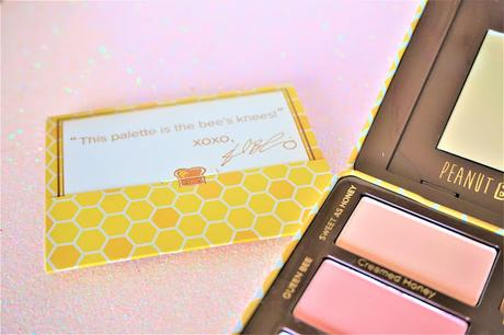 Peanut Butter Honey Too Faced  livret