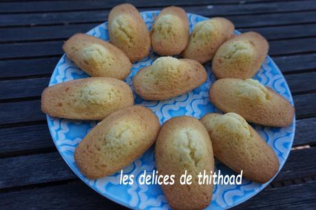 madeleines au limoncello