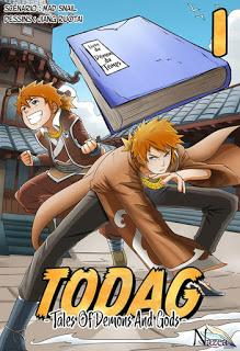 [7BD] TODAG (Tales Of Demons And Gods) - tome 1 - jaquette du manhua