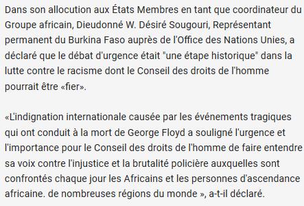 NON, une résolution de l'ONU « ne défend pas le droit des antifas à tout casser », @valeurs… #fakenews