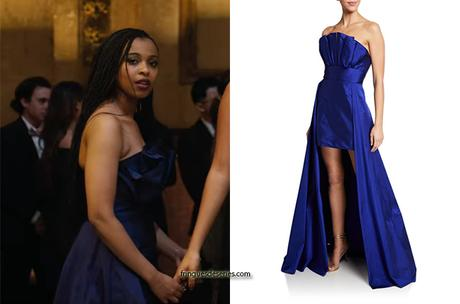 13 REASONS WHY : Ani's blue prom gown in S4E09