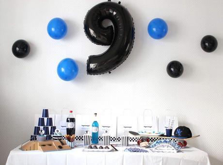 decoration anniversaire 9 ans garcon