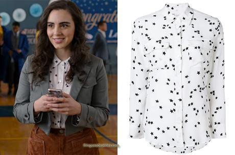 13 REASONS WHY : Heidi's star print shirt in S4E10
