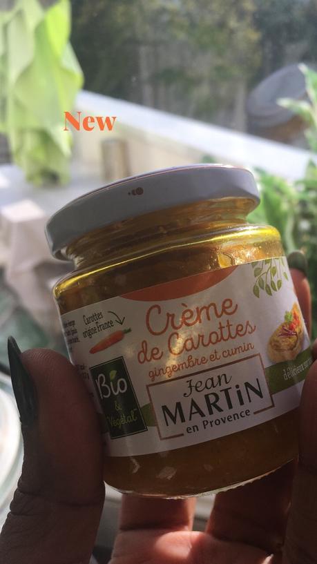 CUISINE : Les Nouveautés de la Boutique JEAN MARTIN : LA CRÈME DE CAROTTES GINGEMBRE ET CUMIN