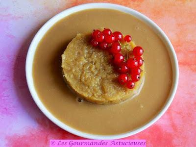Compotée de Rhubarbe et sa crème anglaise Vegan