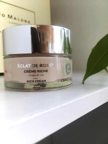 La Crème Riche Bio Eclat de Rose de CENTIFOLIA