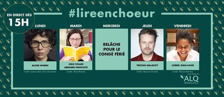 Ma participation à #lireenchoeur