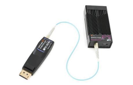 Un nouvel extender optique DisplayPort 1.2 sur 200 mètres chez Opticis