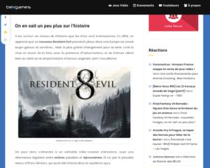 Resident Evil 8, de nouvelles infos sur la sortie du jeu !