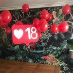 decoration pour anniversaire 18 ans fille