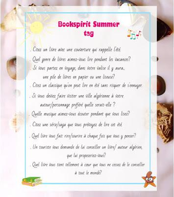 [Tag #11] Summer Tag du blog BookSpirit