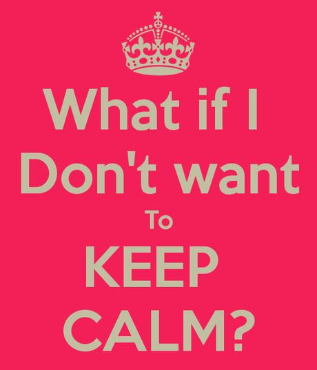 Throwback Thursday thunder : don't tell me to calm down