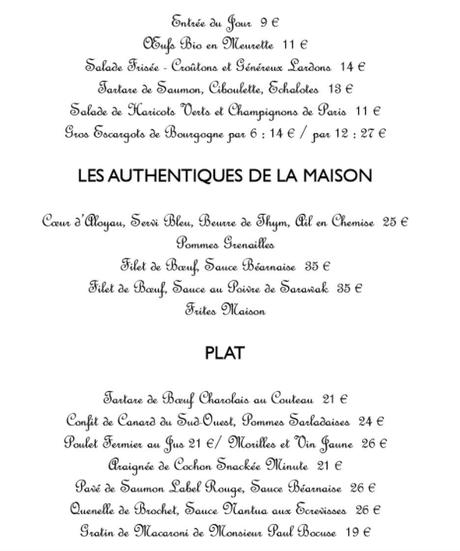 CHEZ FRED, BISTROT DEPUIS 1945 – PARIS 17