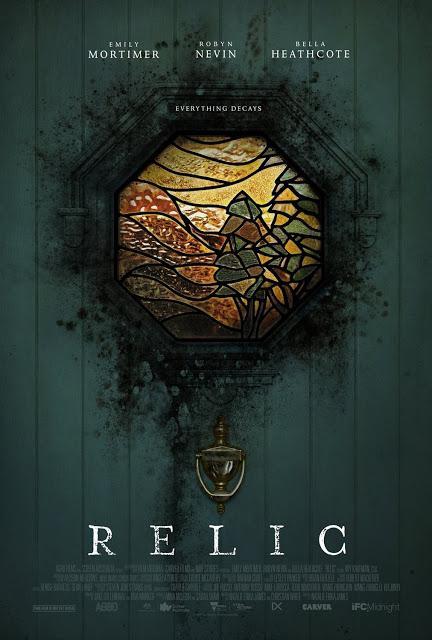Nouvelle affiche US pour pour Relic de Natalie Erika James