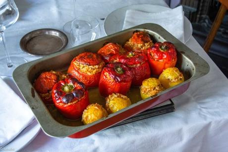 Farcis grecs – Gemista (légumes farcis au riz)