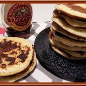 Pancakes au lait concentré sucré - Oh, la gourmande..