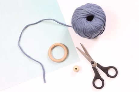 upcycling anneau bois tringle rideau idée déco orignal fil traphilo