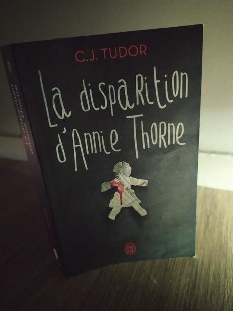 La disparition d'Annie Thorne de C.J. Tudor