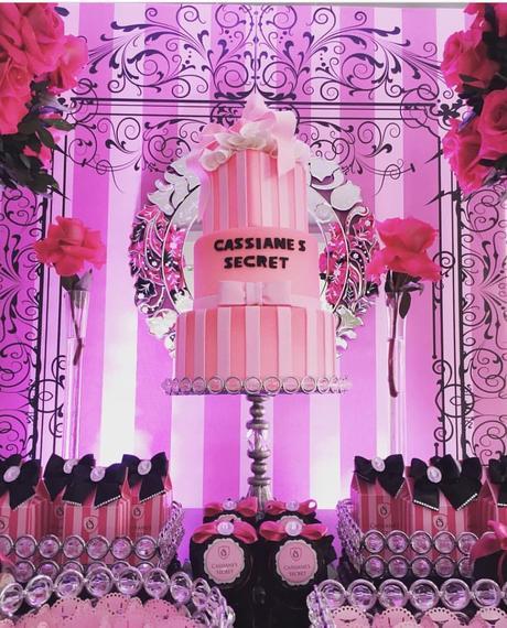 decoration anniversaire victoria secret