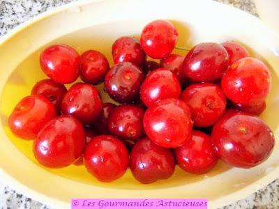Rhubarbe rôtie aux cerises (Sans sucre et Vegan)