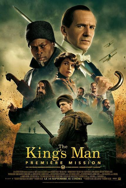 Nouvelle affiche VF pour The King's Man : Première Mission de Matthew Vaughn