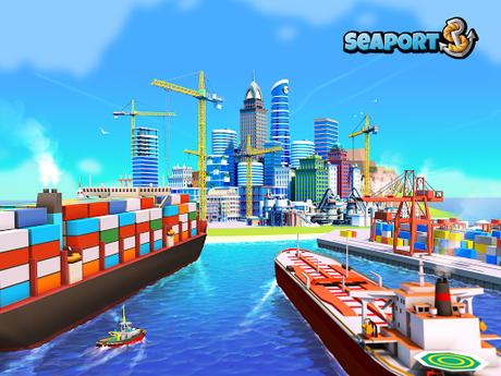 Télécharger Gratuit Sea Port: Jeu de Simulation D'Empire Maritime APK MOD (Astuce) 1