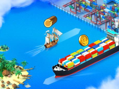 Télécharger Gratuit Sea Port: Jeu de Simulation D'Empire Maritime APK MOD (Astuce) 4