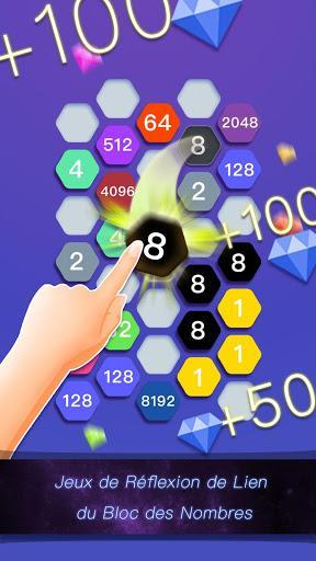 Télécharger Gratuit Hexa Cell-Jeu de Puzzle de Lien du Bloc des Nombre  APK MOD (Astuce) 1