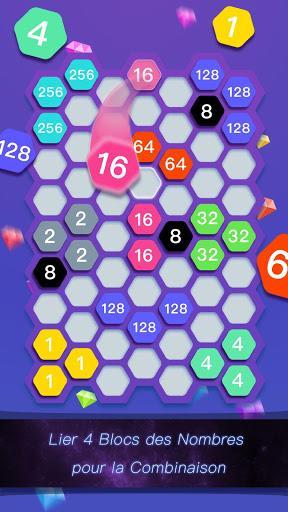 Télécharger Gratuit Hexa Cell-Jeu de Puzzle de Lien du Bloc des Nombre  APK MOD (Astuce) 2
