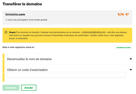 Stripe Connexion : Redirection Nom De Domaine Ovh
