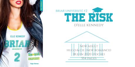 The risk (Briar université #2) • Elle Kennedy