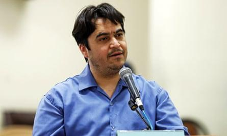 Iran: condamnation à mort de l'opposant Rouhollah Zam