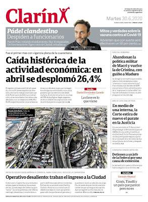 Chute spectaculaire du PIB argentin [Actu]