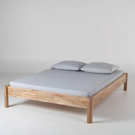 cadre de lit en cuir avec massage