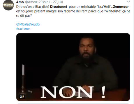 suprémacistes et antisémites : OUT of the world ! #NoHaters #antiracisme