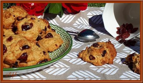Bannique: biscuits aux cranberries Canadien