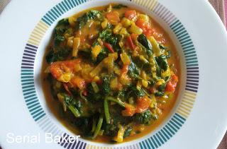 Curry tomate épinard