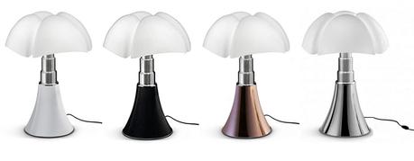 pipistrello grande lampe design télescopique