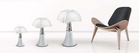Lampe design Pipistrello : le génie de Gaetana Aulenti au service de la maison Martinelli Luce