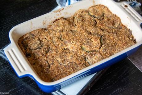 Accommoder les restes – Gratin de courgettes au riz