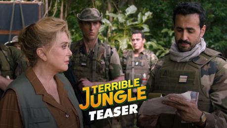 TERRIBLE JUNGLE avec Catherine Deneuve et Jonathan Cohen TEASER, au Cinéma le 29 Juillet 2020