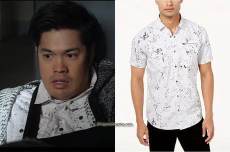 13 REASONS WHY : Zach's splatter shirt in S4E06